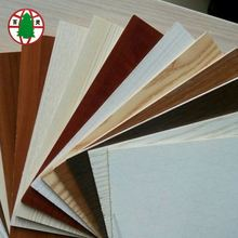 1220*2440mm Poplar Core 18mm Melamine Commercial Plywood
