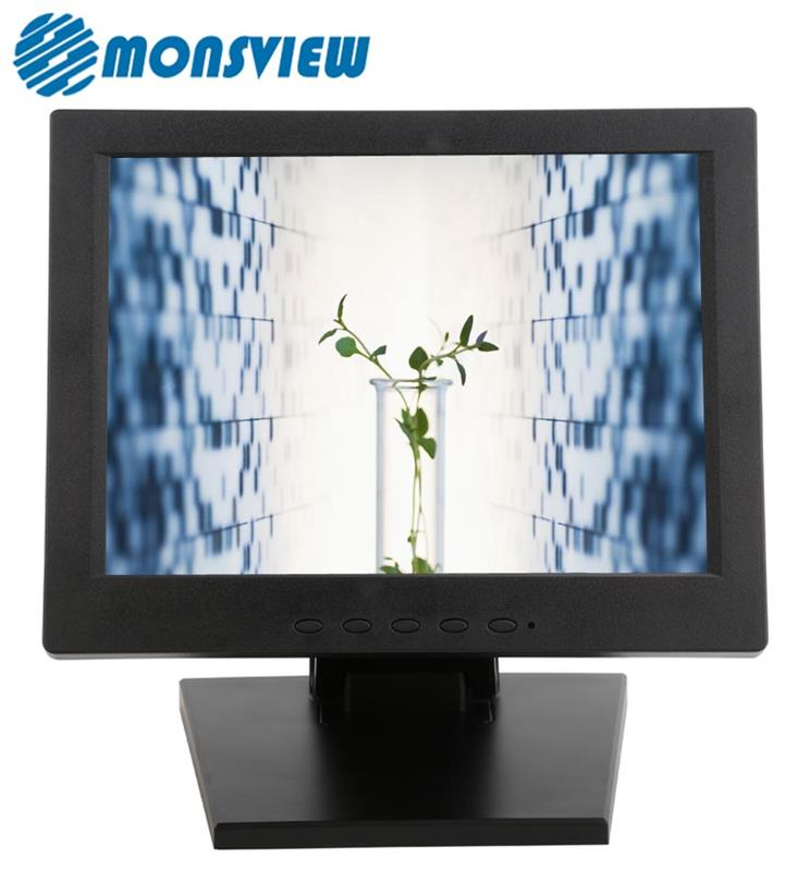 12 inch General Touch Screen Monitors With Standard VESA Holes