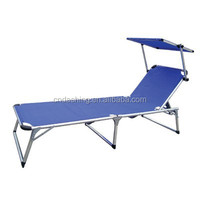 Folding outdoor canopy camping bed