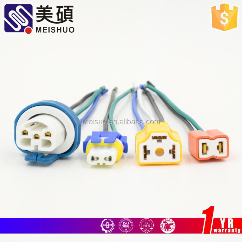 Meishuo car connector auto diagnostic cables and connectors