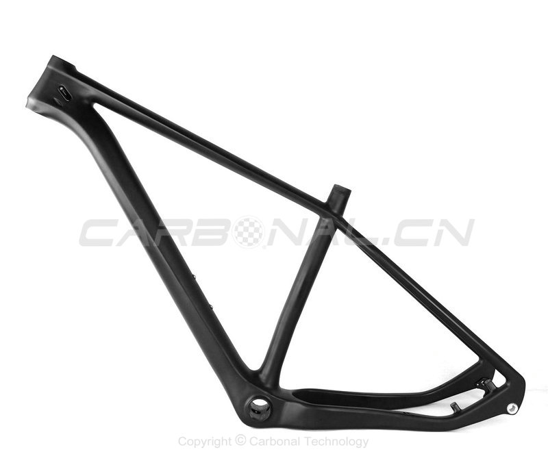 Carbon 27.5 Plus Mountain Bicycle Frameset 27.5+ Carbon Boost Frame
