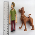 Customize scooby doo shaggy action figure character toys pop out eyes mystery machine crew