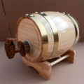 0.75L barrel mini wood craft cute decoration