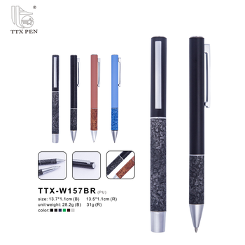 2018 Factory Supply Wholesale Logo Custom Premium Metal Ball Point Pen