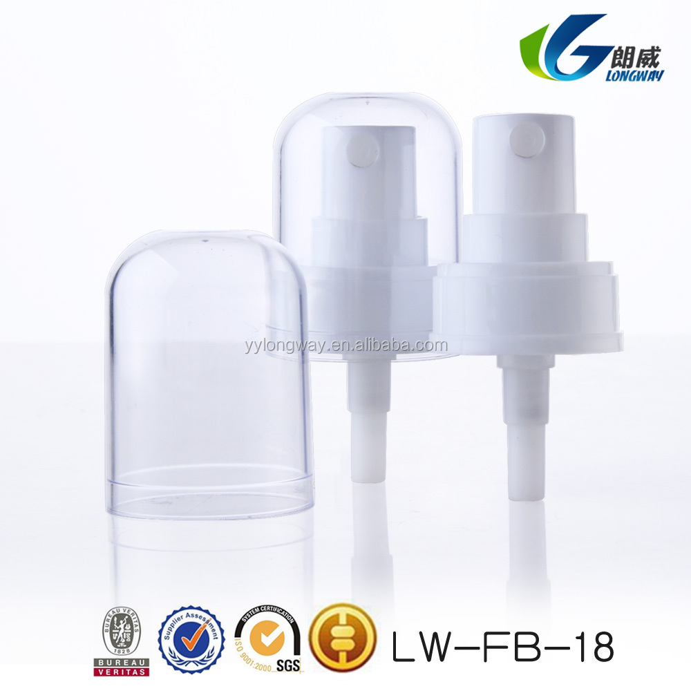 Best selling plastic micro sprayer treatment pump for bottle