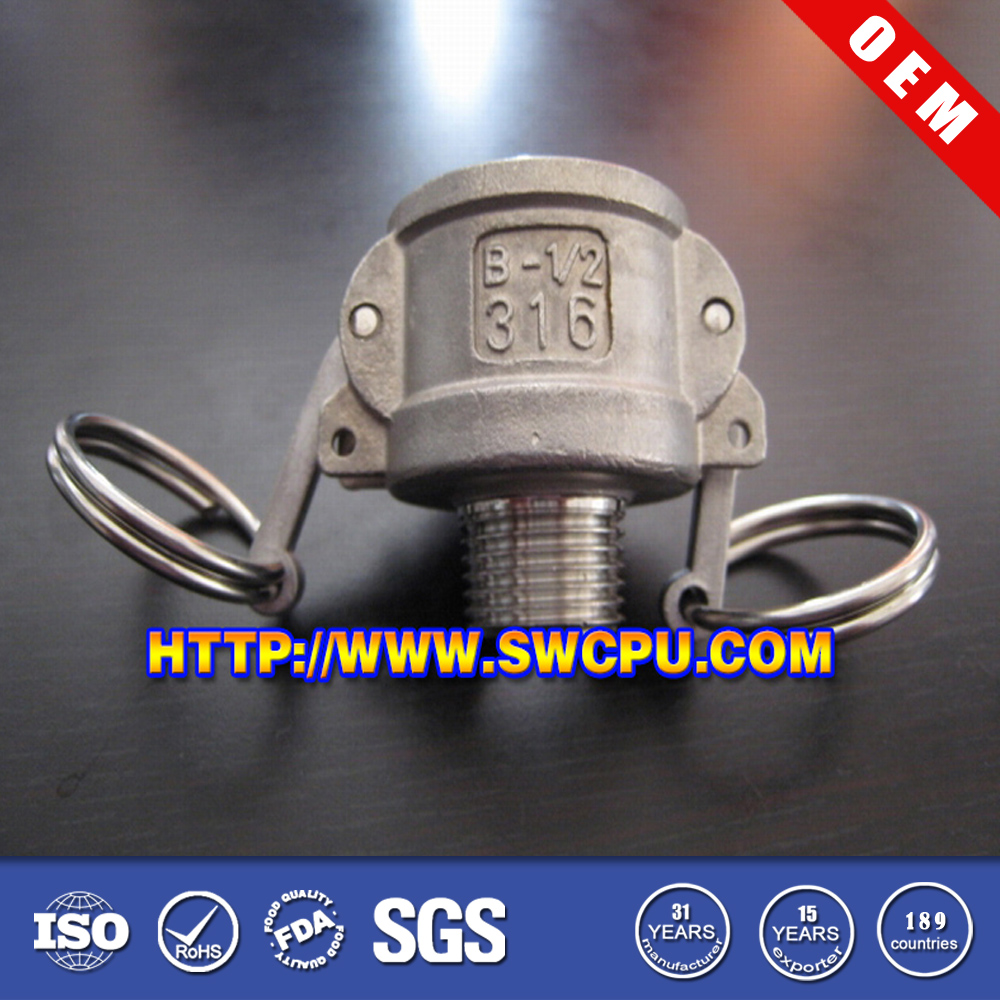 Factory price male pipe threaded end coupling/ joint