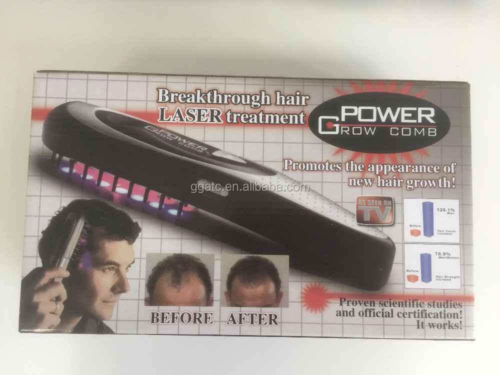 GOGO-Power Hair regrowth Laser Comb,Portable Laser Comb for Hair Regrowth and Scalp Massage Comb