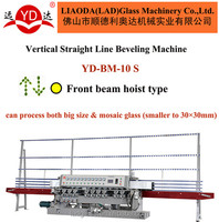 For mosaic small size glass Beveling polishing Machine YD-BM-10S