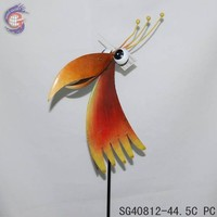 metal crafts garden decoration birds statue