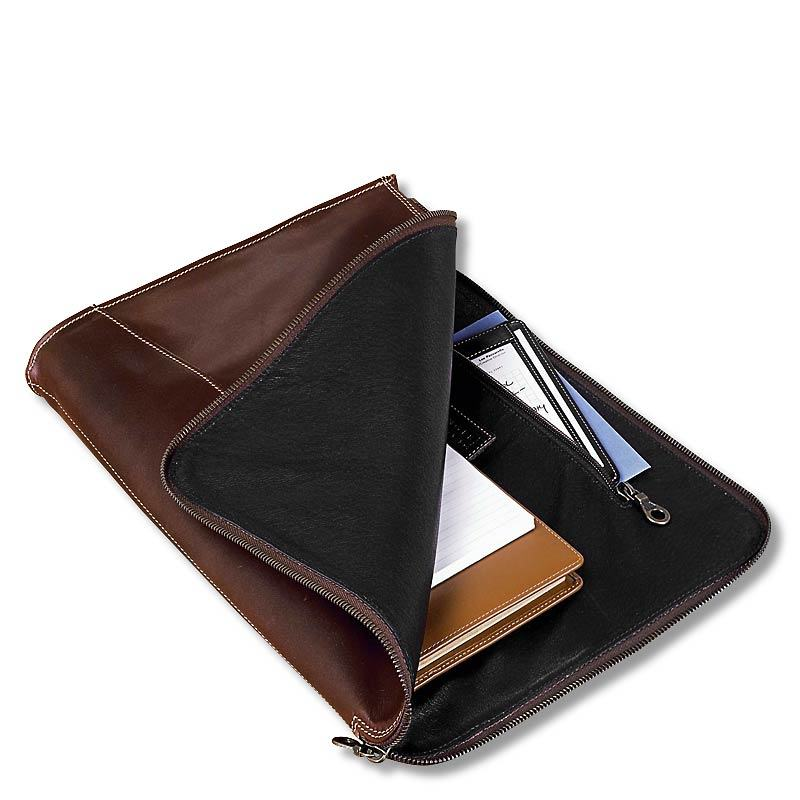 Hot sell luxury leather sleeve for ipad simple genuine leather folio for kindle