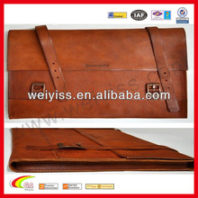 Genuine leather case for macbook pro 13 inch