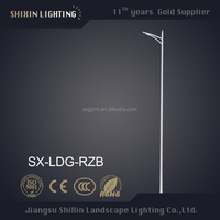 Hot Zinc Galvanized 8M,10M,12,15M single arm street lighting pole