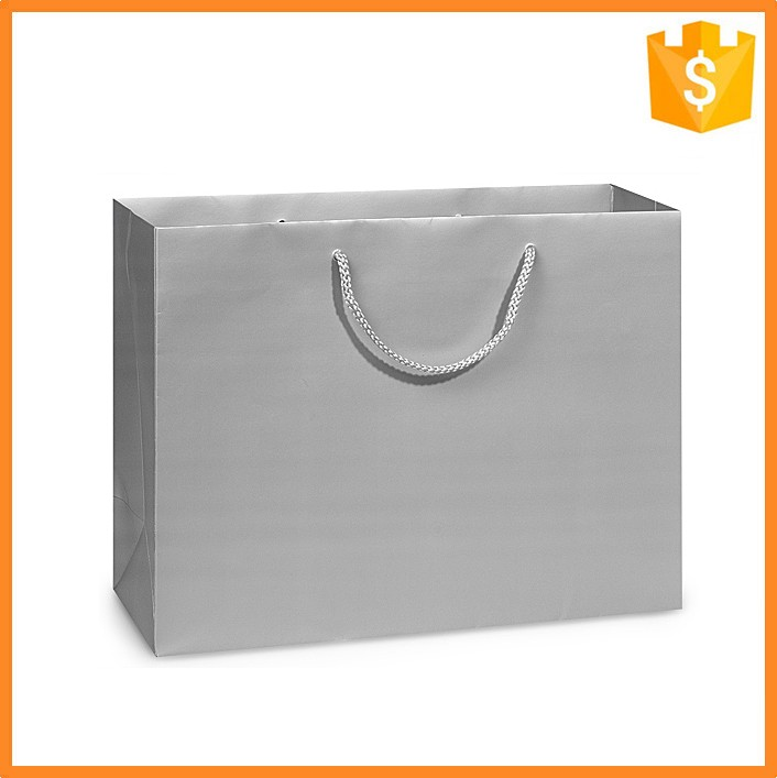Custom made paper materials extra large shopping bag