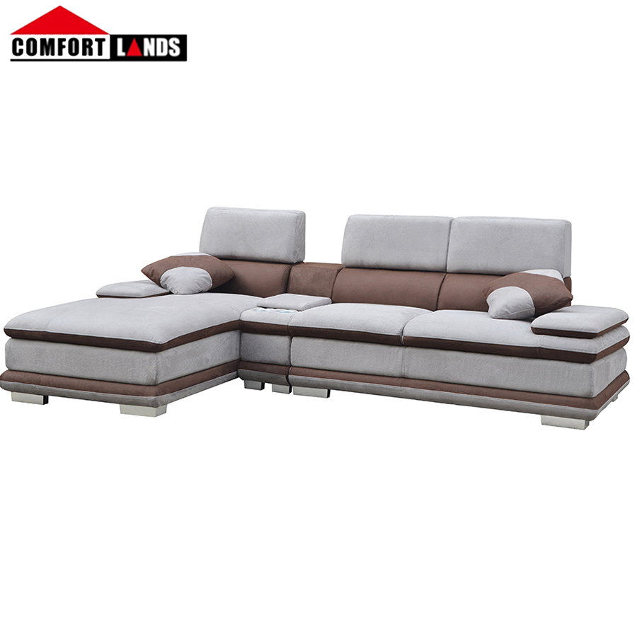 2018 Modern L Shaped Sofa With Corner Table - Buy L Shaped Sofa  Designs,Corner Sectional Sofa,L Shaped Sofa With Corner Table Product on  Alibaba.com