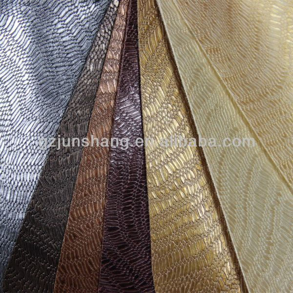 3D affection latex PVC rubber leather for sofa upholstery