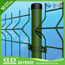 Curvy Welded Mesh Fences / Panel Fence / Galvanized Mesh Panels