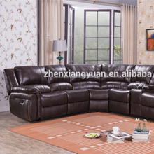 2018 Living room hot-selling Furniture of America Corner Sectional recliner motion Sofa