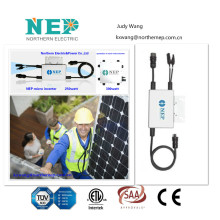 anti-isand Solar panel inverter, PV Solar microinverter 250W,Rooftop system