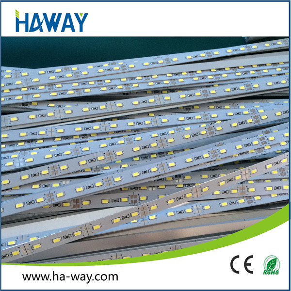China supplier 3000k dc12v samsung smd3030 led rigid bar shelf for supermarket