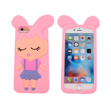 Oem/Odm 3D Custom Smartphone Back Case Protective Cover For Iphone 6 Gel Silicone Case For Iphone 7