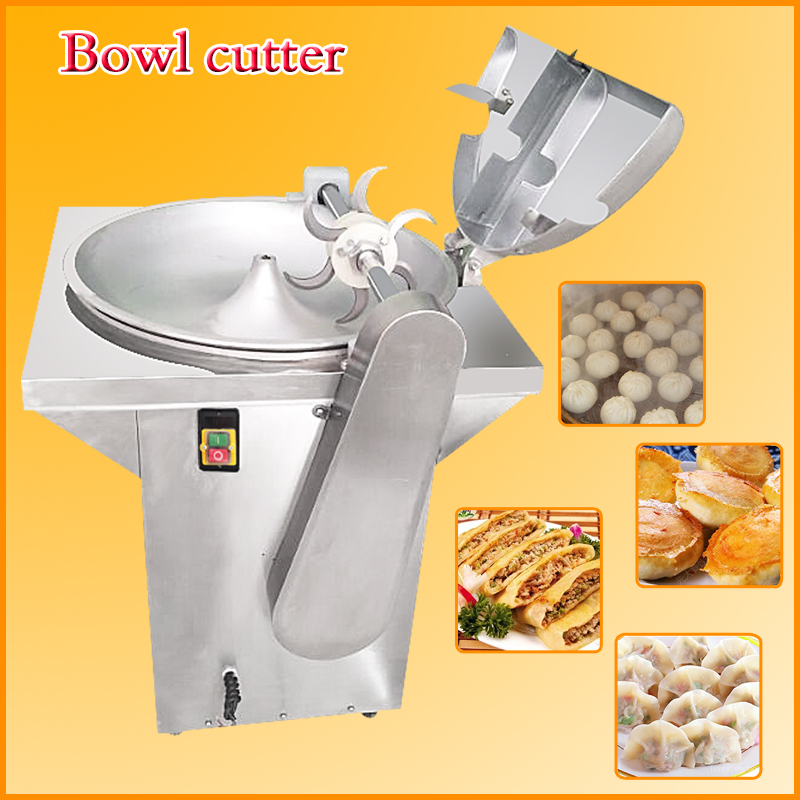 Small Meat Bowl Cutter with Low Price | Stainless Steel Meat Bowl Chopper / bowl cuter machine