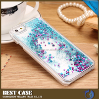 Bling 3D quicksand and stars moving glitter PC case for iPhone6