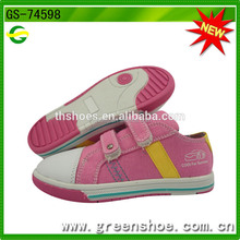 Multi-color Kids Lovely Sweet Girls Canvas Stylish Casual Shoes Buckle Strap