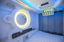 2015 Factory price hot sale self-contained pods Capsule Hotel Bed