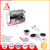 Wholesale pink safe stainless steel cooking utensils pretend play food set  kitchen toys