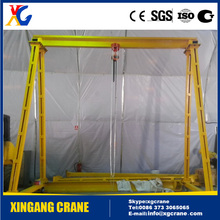 Well Designed Hoist Light Portable Gantry Crane, Small Gantry Crane, Mini Gantry Crane 1 ton 2 ton 3 ton for Indoor Workshp Use