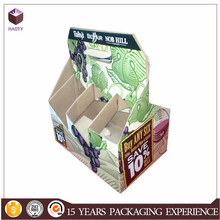 Recyclable Feature and Paper,corrugated board Material 6 PACK BOTTLE CARRIER