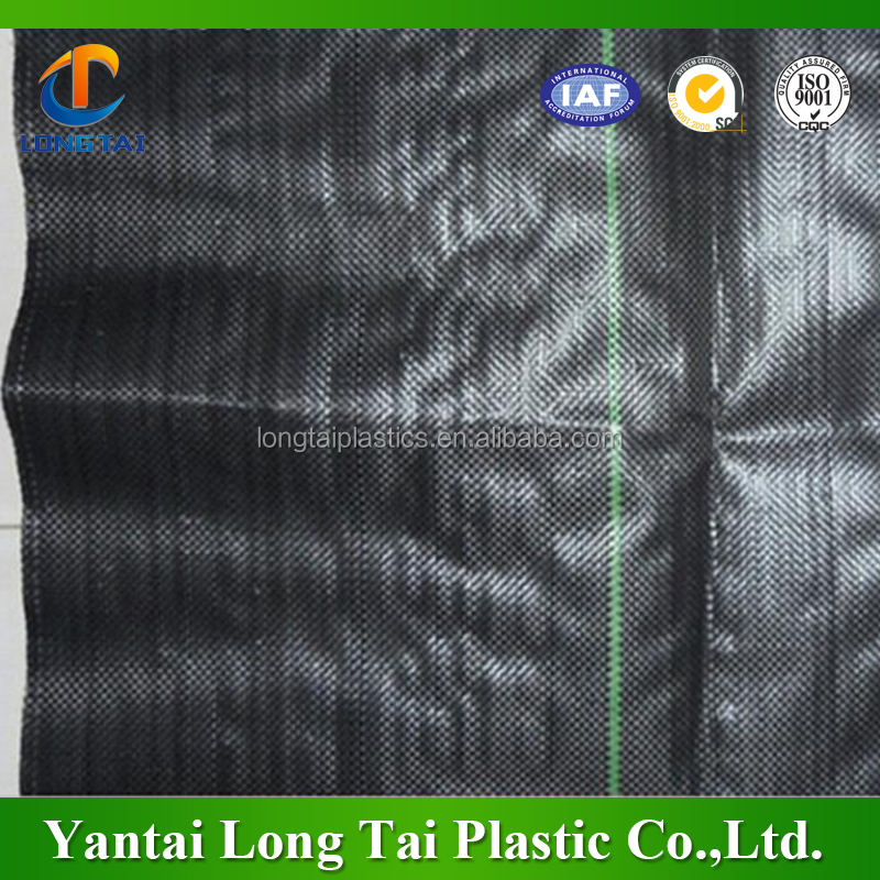 Cheap price Plastic weed fabric/ agriculture mulch film weed mat/plastic ground cover mat