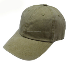 Pigment Dyed Washed Cotton Cap - Adjustable Hat