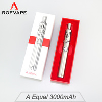 Best selling products in europe Rofvape A Equal 50w 3000mah vapor box china electronic cigarette high ego vaporizer pen