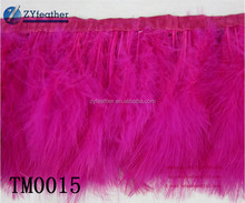 NO.1 Supplier Can be customized cheap price carnival accessories dyed feather string TM0015