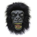 Halloween costume Ape latex party gorilla chimpanzee mask