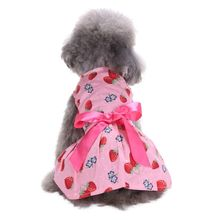 2017 Pet Dog Cat Bow Flowers Dress Skirt Tutu Dog Clothes And Dress Party Dresses 3 Style Wedding Clothes
