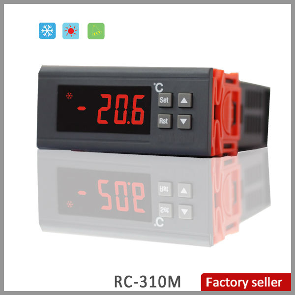 RC-310M Heat and Cool Auto Shift Separate Differential LED Microcomputer Temperature Controller