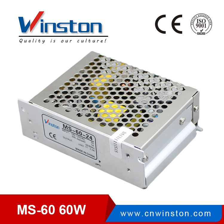 MS series 220vac to 12vdc 60 watts 5amp mni size psu power supply