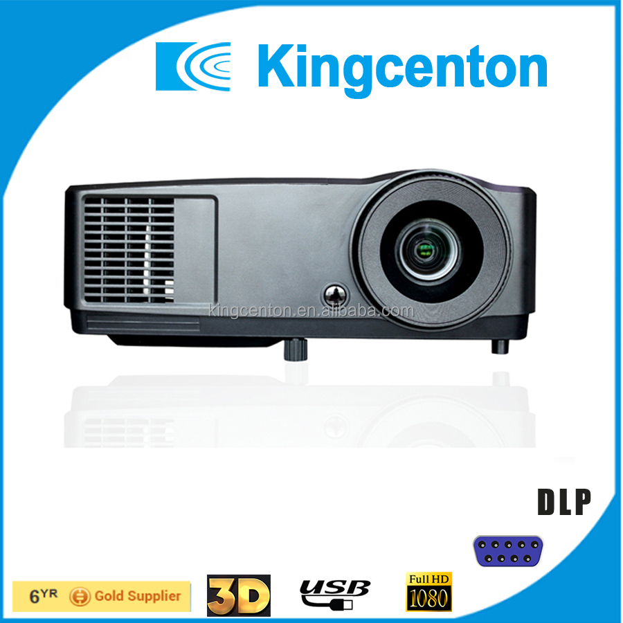 High light DLP 5000 Lumens projector 3D HDMI led beam projector for Education & Business