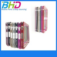 High quality Slim Brushed Metal Back Shell Mobile Phone Cover