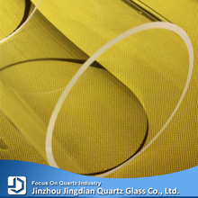 Wholesale grinded uvc quartz glass tube