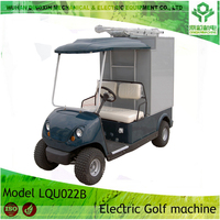 48V battery 4 wheels Electric vehicles 2 seats golf car approved CE