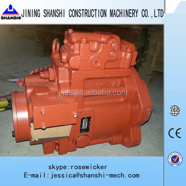 Kawasaki K3V112S hydraulic pump for concrete mixer truck
