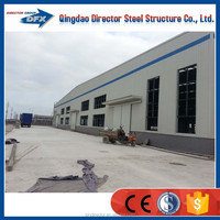 credit assurance usd169000 factory exporting light steel frame workshop steel structure workshop with best price