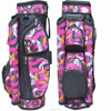 Colorful nylon woman golf club bag