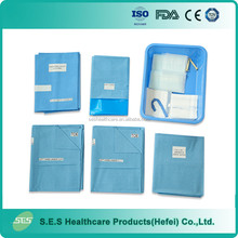 Operation Theatre Disposable surgical delivery pack/kit