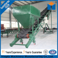 High Efficiency Mobile Curve Belt Conveyor
