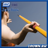 IAAF Certification High quality track & field sports equipment javelin throw, training & competition javelin for sale