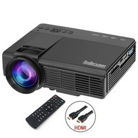 Alibaba Best Seller Mini Projector 800 Lumens 800x480p Multi-Media Entertainment Home Cinema Theater LED Portable Projector